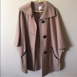EUC Halogen cape jacket women's size S